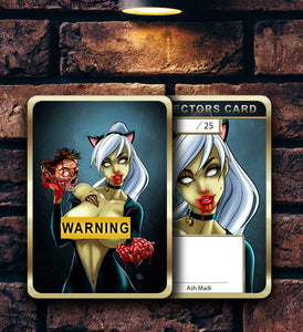 ZOMBIE TRAMP (RISQUE) - HOLOFOIL CARD