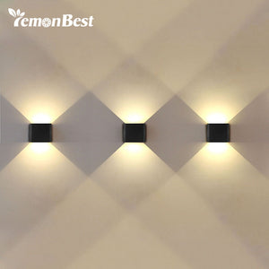 Decorative 6W UP & Down LED Wall Lamp