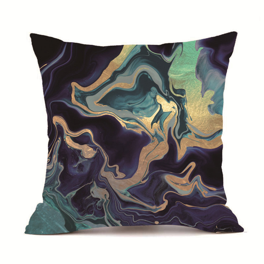 Gold Lava Decorative Cushion Cover