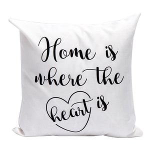 Home is Where The Heart Is  Cushion Covers Home Decor