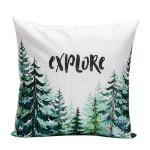 EXPLORE Cushion Cover Home Decor