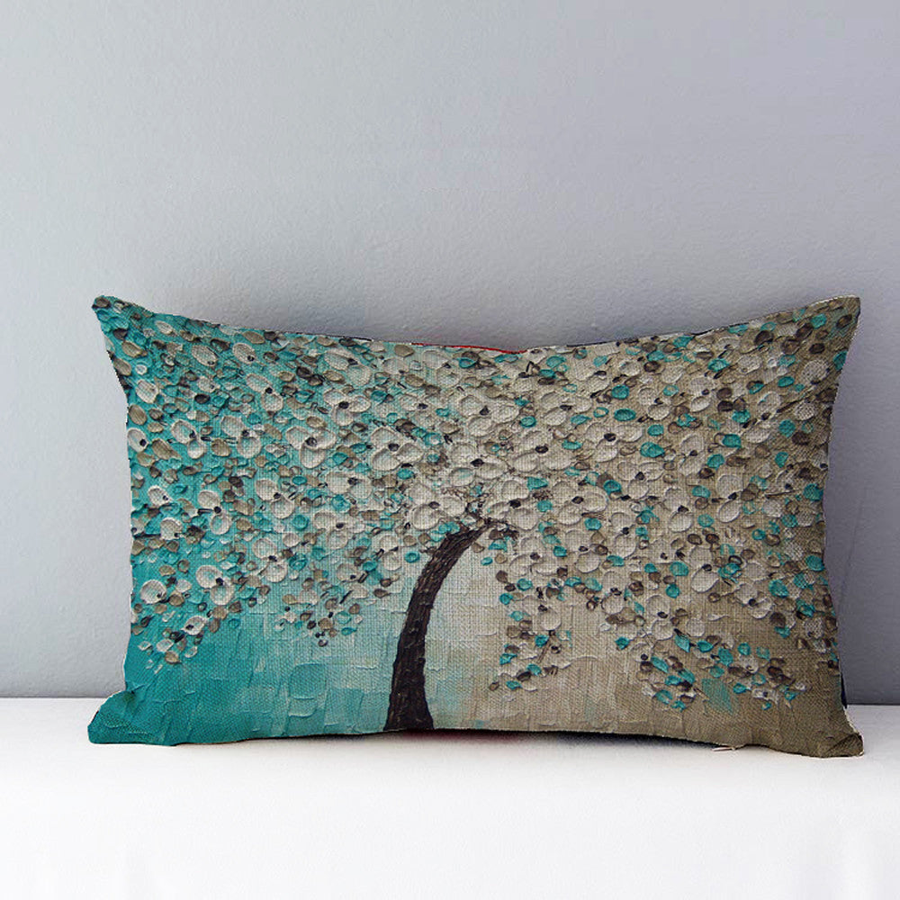 Autumn Hand Painted Decorative Cushion Cover