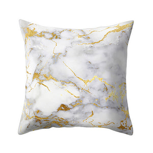 Exquisite Marble Texture Cushion Cover