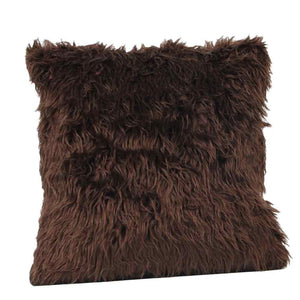 Plush Fashion Throw Pillow Cafe Home Decor Cushion