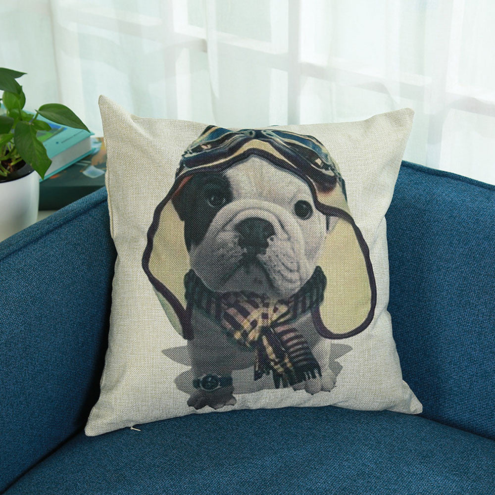 Dog Lovers Cushion Cover