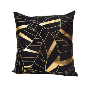 Gold Foil Print Cushion Cover Home Decor (4 designs)