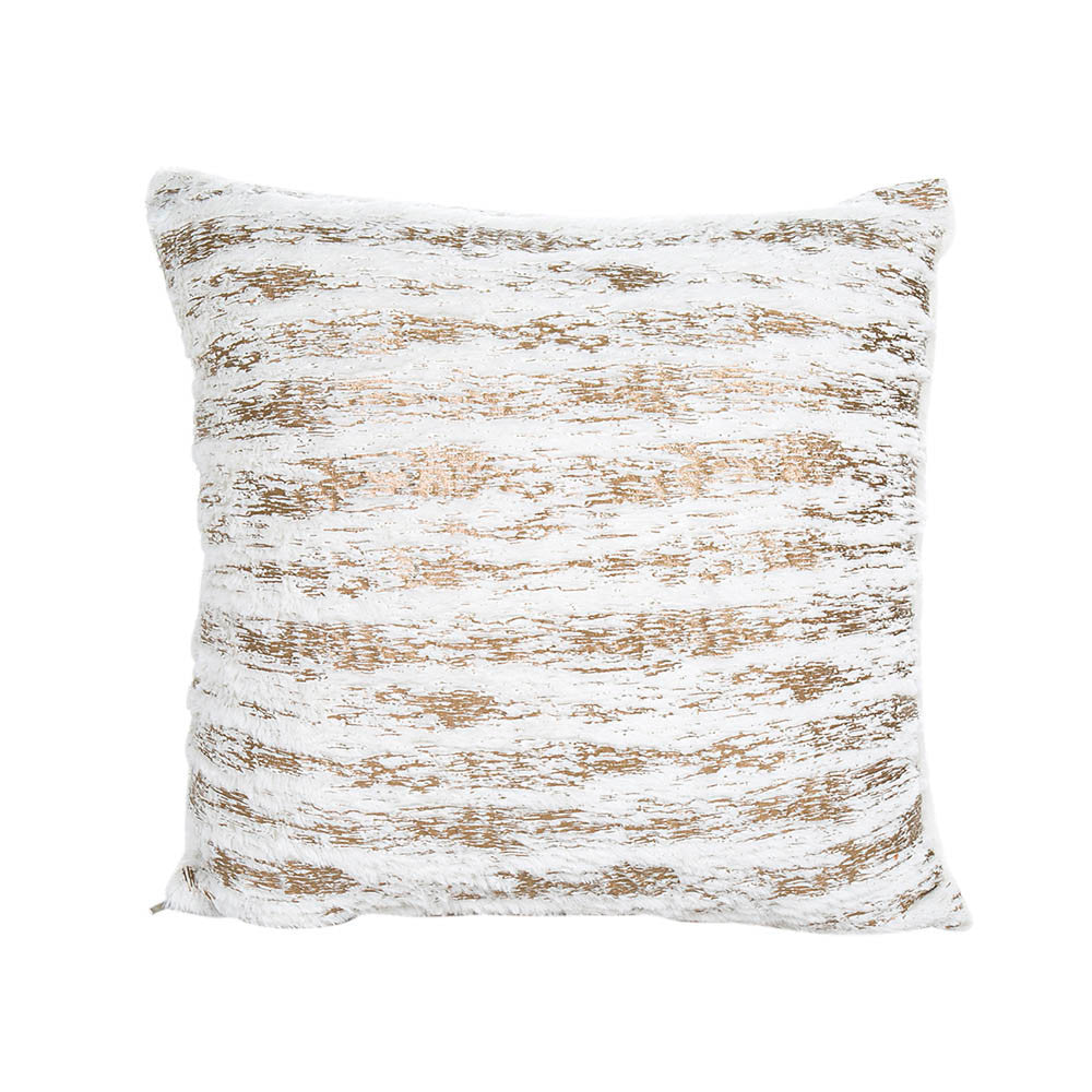 Blurred Lines Plush Cushion Cover Home Decor
