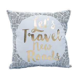 Chic Lets Travel Decorative Cushion Cover
