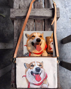 Create Your Own Unique Hand Painted Bespoke Canvas Bags