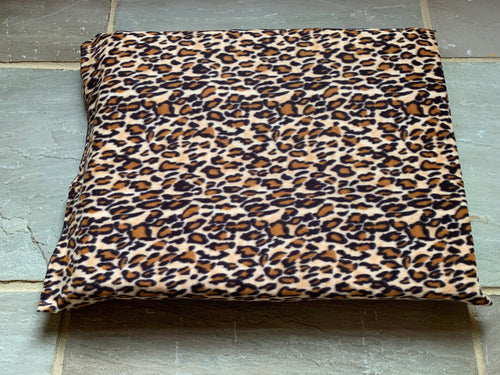 Leopard Print Luxury dog Bed