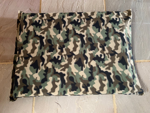 Camouflage Print Luxury dog Bed
