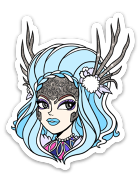Ice Queen Sticker