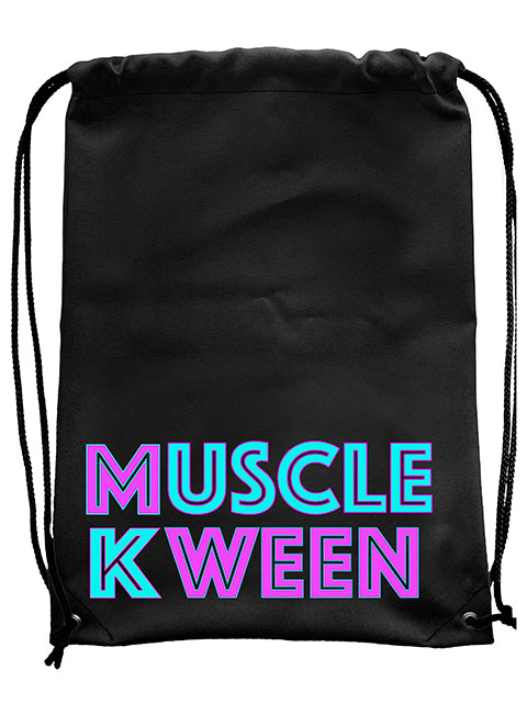 Muscle Kween Drawstring Bag