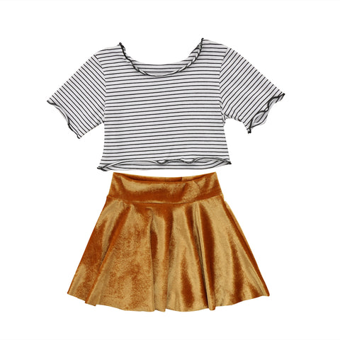 1116b542383d Clothing sets with skirts for Baby girls and Toddler girls ...