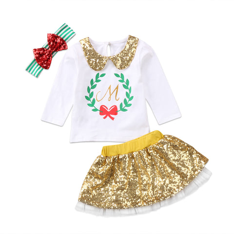 d8c19090e35 Clothing sets with skirts for Baby girls and Toddler girls ...