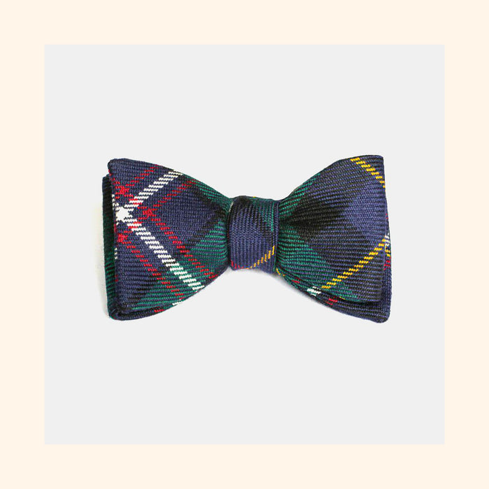 Royal Navy Submarine Service Tartan Bow Tie