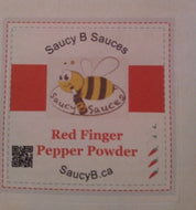 Red Finger Pepper powder