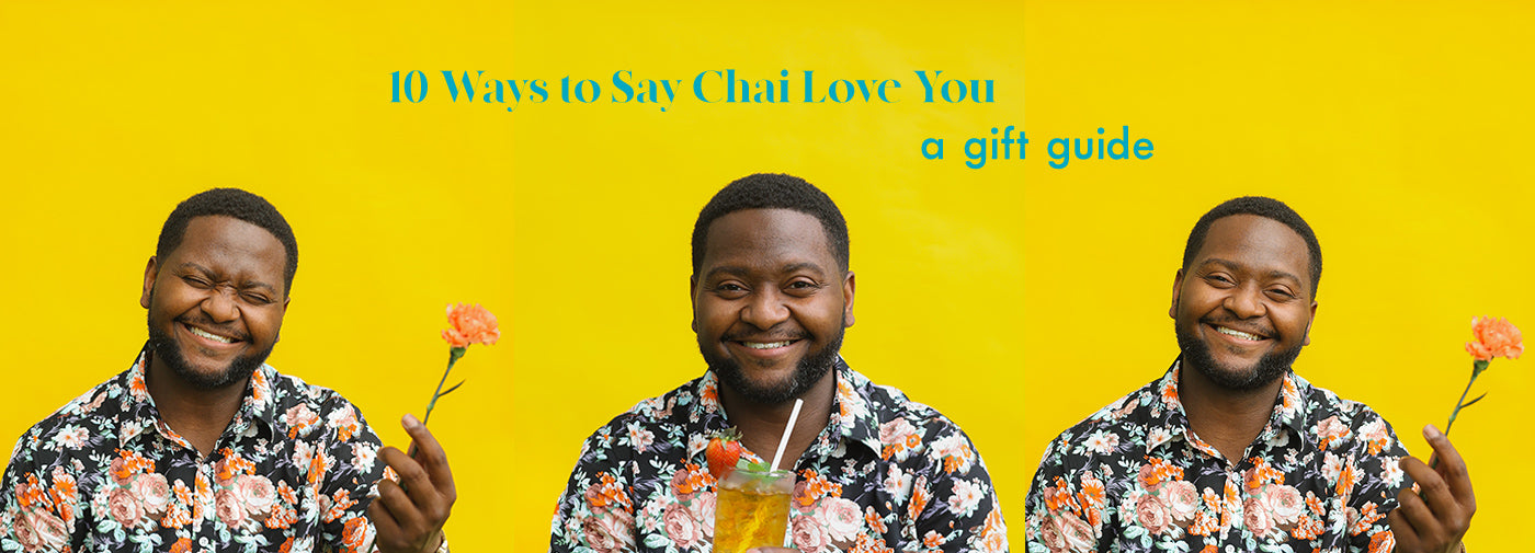 Say Chai Love You - Dad On Yellow