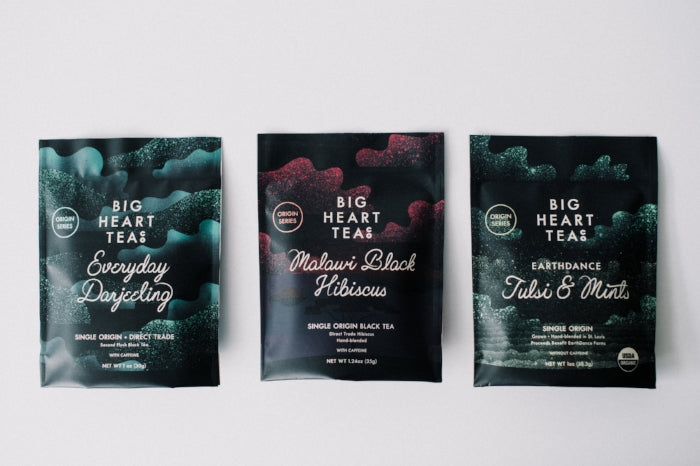 "Big Heart Tea Co. ""Origin Series"" direct-trade teas"