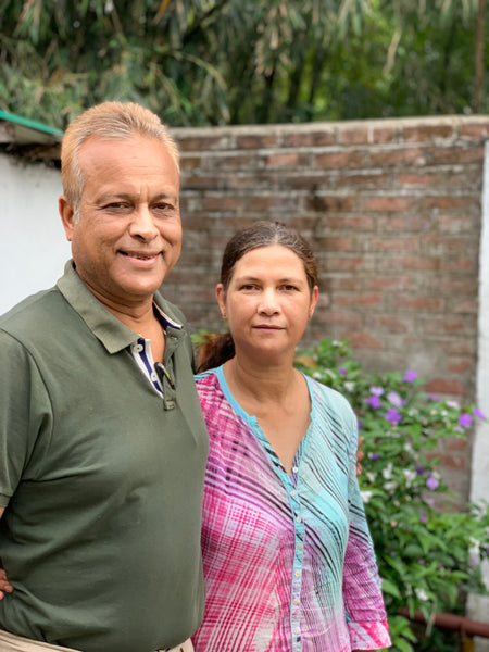 Rajen and June Baruah of Assam Heritage Tea