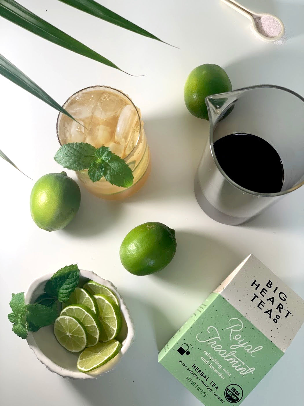 Royal Treatmint and Limes
