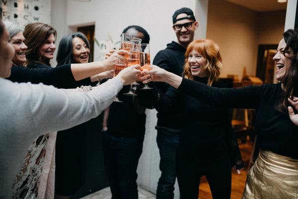 Big Heart Tea Co. team cheers in celebration as 2018 Arch Grant winner