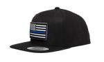 Thin Blue Line Flag Snapback Hat