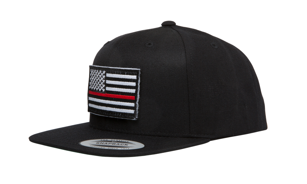Thin Red Line Flag Snapback Hat
