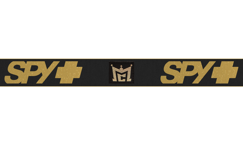 Spy+Jeremy McGrath - Bronze w/ Gold Spectra + Clear Afp