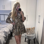 AMY Snake Print Tunic Dress