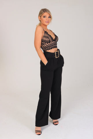 ASHLEY Belted Trousers