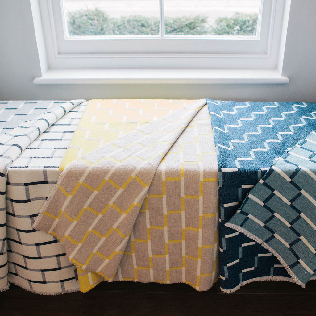 Steps Blanket | Lemon & Almond