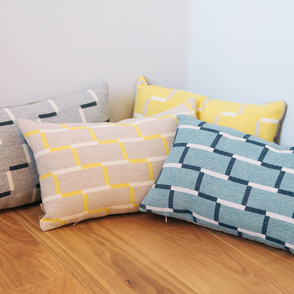 Steps Cushion | Lemon