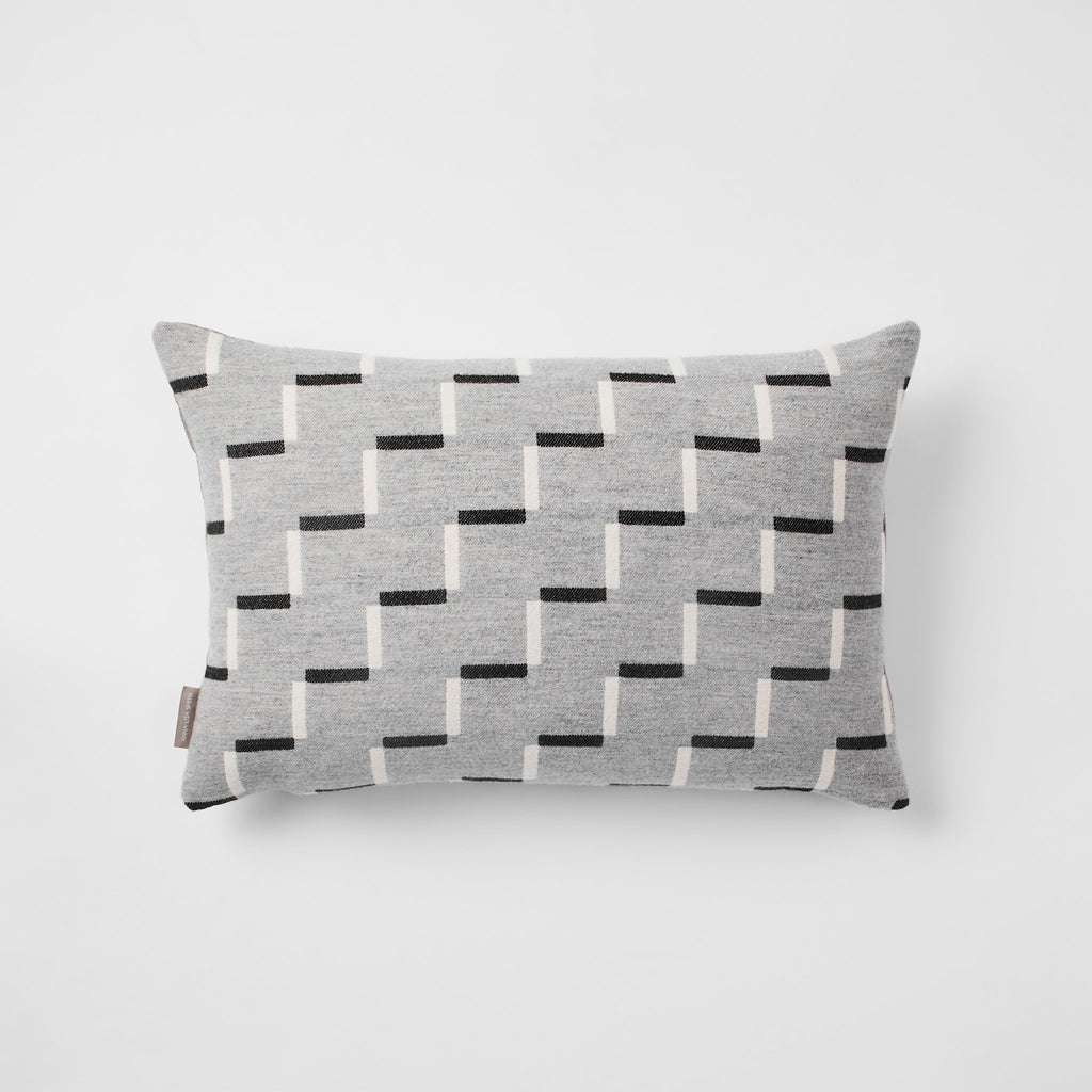 Steps Cushion | Pearl Grey