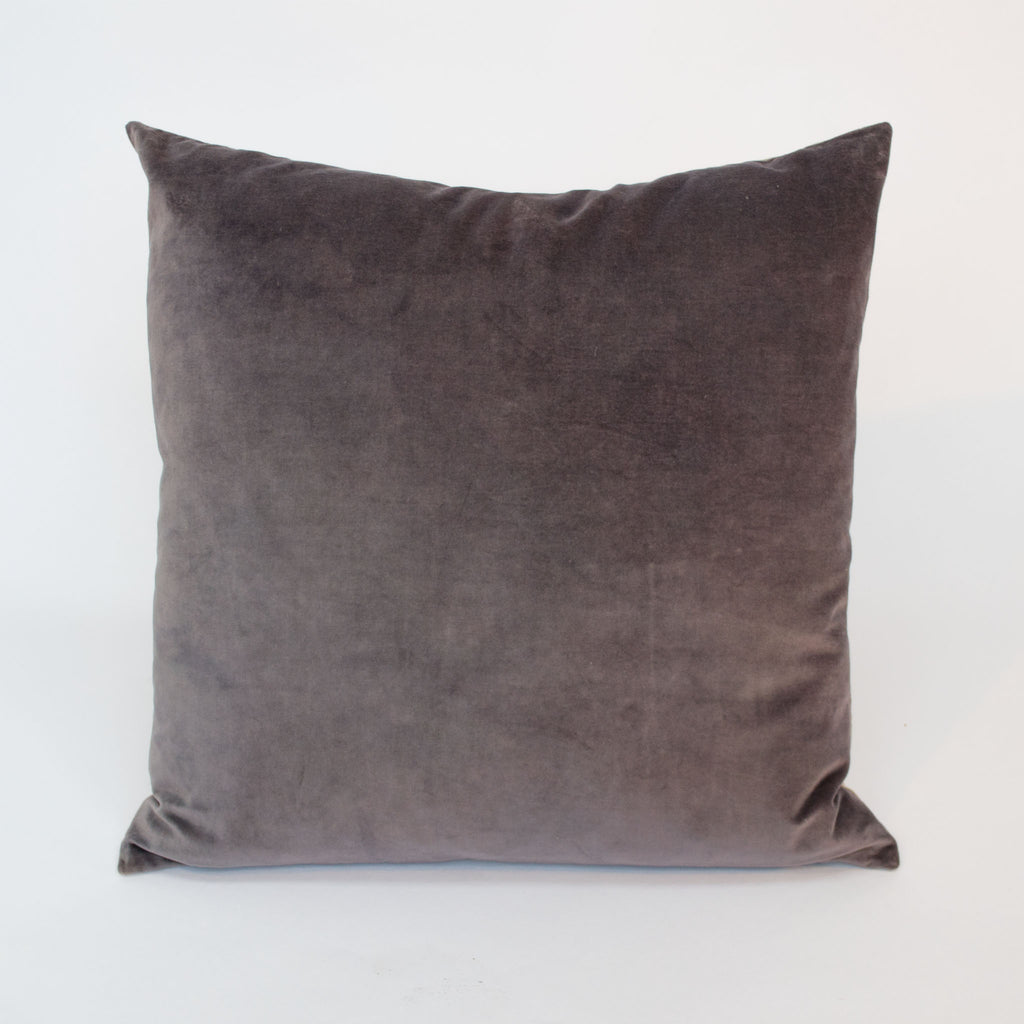 Antique Mauve Velvet Cushion