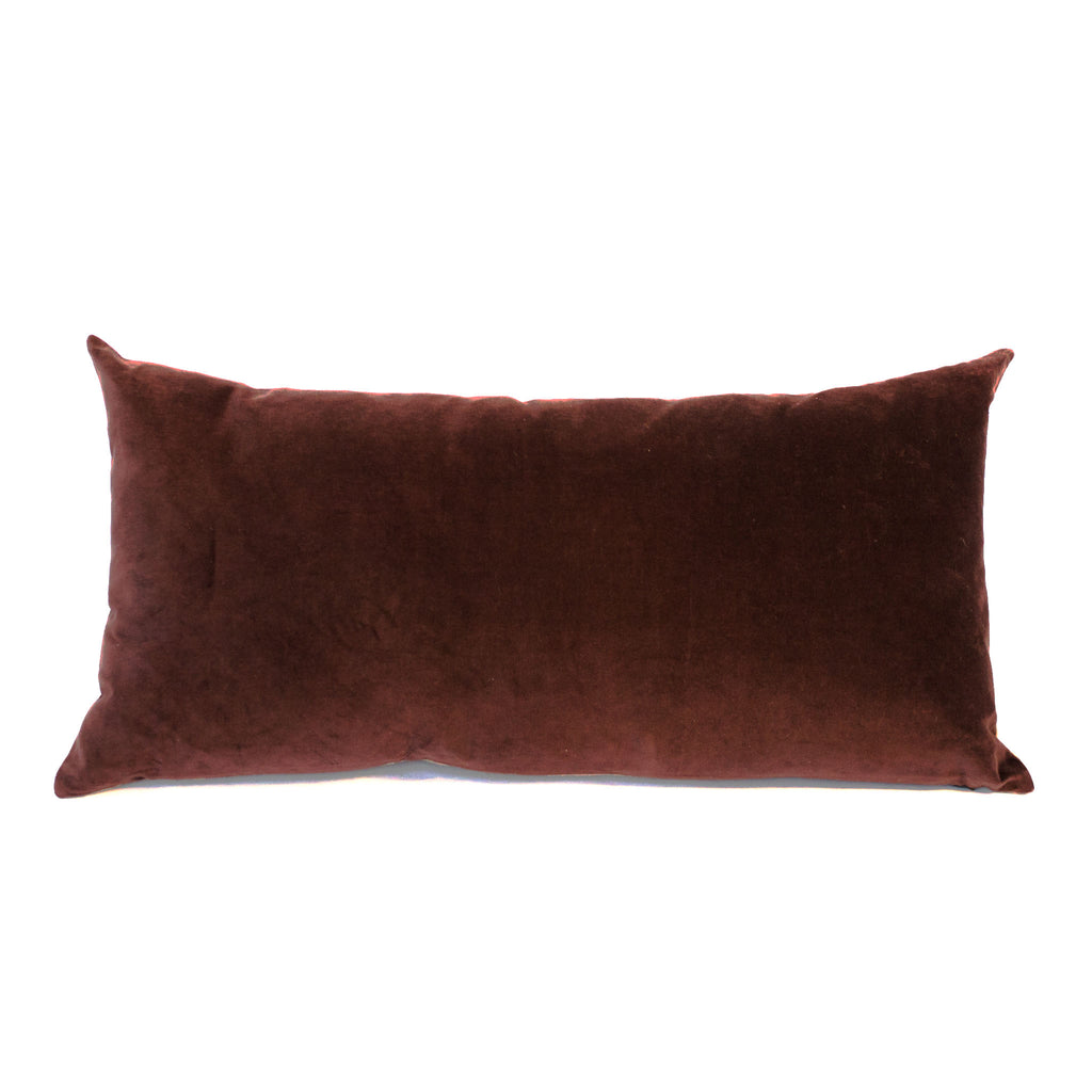 Burgundy Velvet Cushion