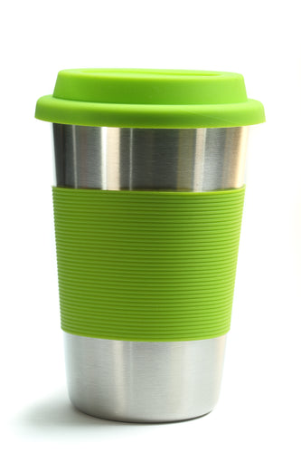 Bamboo Stainless Steel Cup - Green