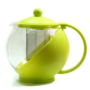 Tea pot Glass - Yellow