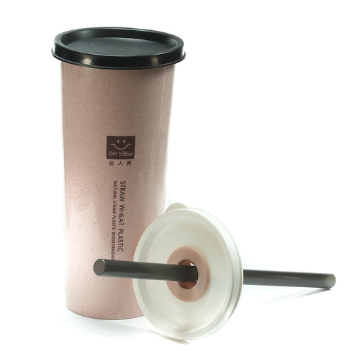 Wheat Straw Cup - Light Pink
