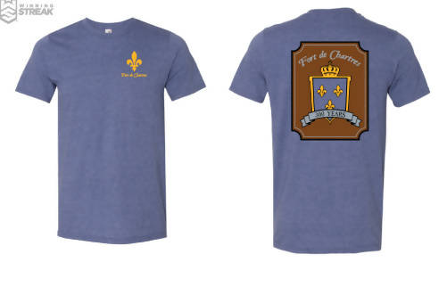 300th Anniversary FDC Crest t-shirt