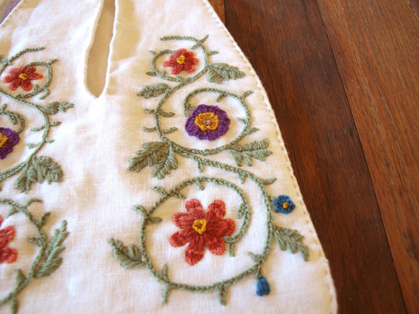 18th Century French Embroidered Pocket