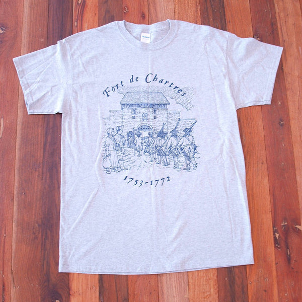 Fort de Chartres t-shirt