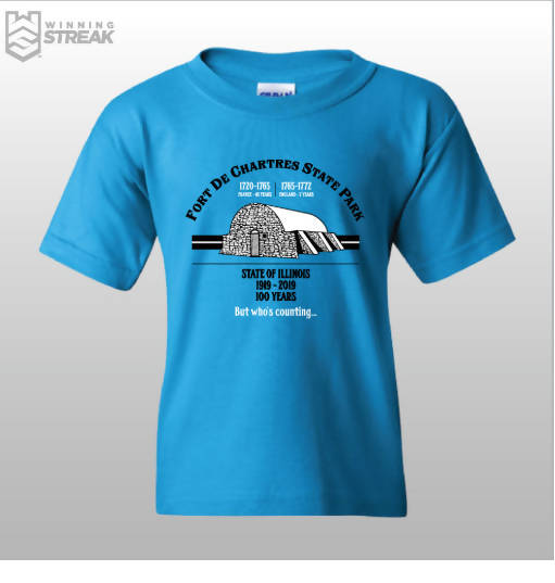 100th Anniversary FDC State Park t-shirt