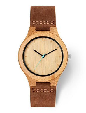 Man wood watch BOREAS Bamboo