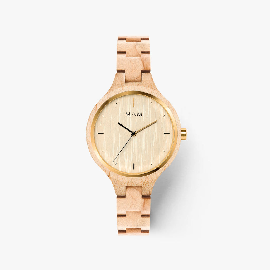 Ladies watches wood Mam Originals | SILT 606