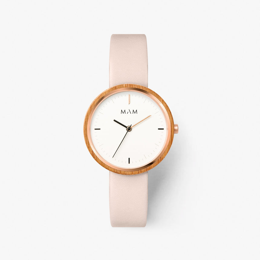 Slim watch wood Mam Originals | PLANO 652