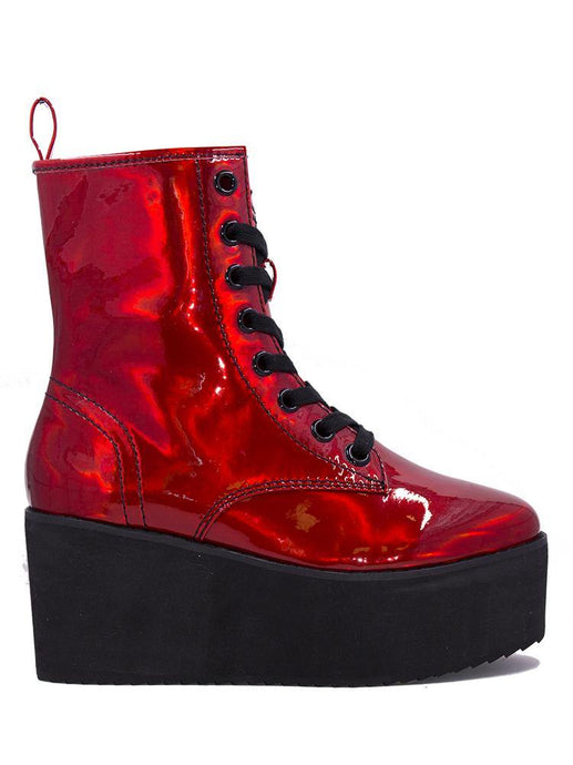 Stomp Hi x Ash Costello Red Hologram
