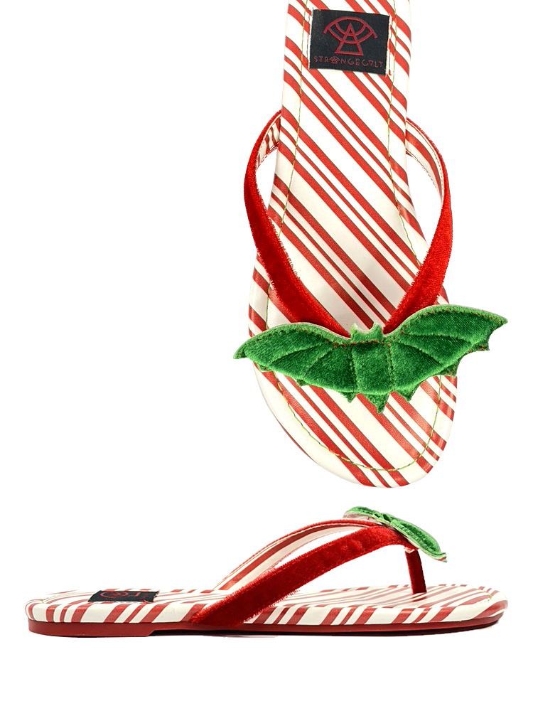 Betty Bat Candy Cane