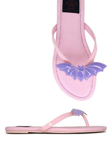 Betty Bat Sandal Pastel