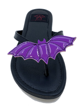 PRESALE SHIPS 6/10!!! Bat Sandal Purple PRESALE SHIPS 6/10!!!